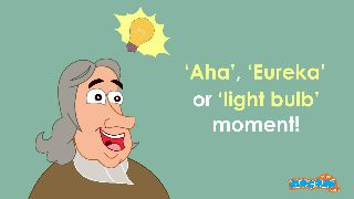 Why is an idea Mostly associated with a Light Bulb