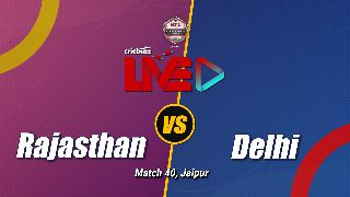 Rajasthan v Delhi, Match 40: Preview