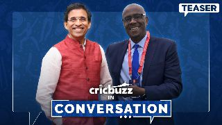 Cricbuzz In Conversation ft. Ian Bishop and Harsha Bhogle - Teaser