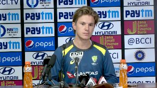 Key is to not be too harsh on self against strong Indian batting lineup - Zampa
