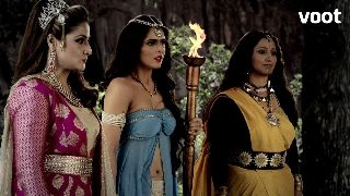 Irawati deceives Chandrakanta